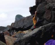 鹿児島県の甑島で少し登ってきました