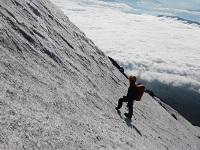 夏のためのトレーニングとして3回も富士山に登りに行った